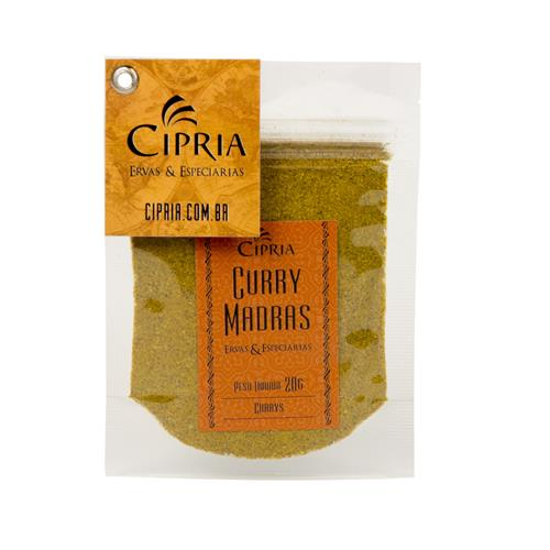 Curry Madras – Zip Pouch – 20g