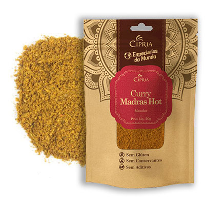 Curry Madras Hot – Zip Pouch – 20g