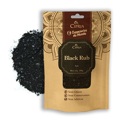 Black Rub – Zip Pouch – 100g